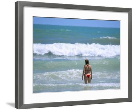 Ponta Negra Beach, Natal, Rio Grande Do Norte State, Brazil, South America-Sergio Pitamitz-Framed Art Print