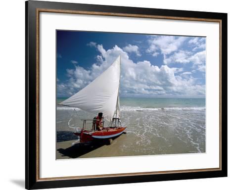 Maracajau, Natal, Rio Grande Do Norte State, Brazil, South America-Sergio Pitamitz-Framed Art Print