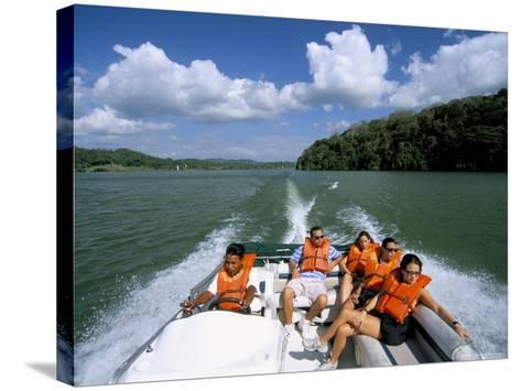 Gatun Lake, Soberania Forest National Park, Panama Canal, Panama, Central America-Sergio Pitamitz-Stretched Canvas Print