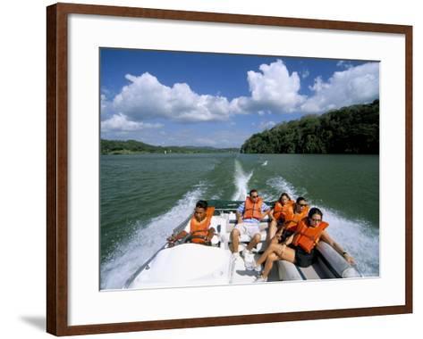 Gatun Lake, Soberania Forest National Park, Panama Canal, Panama, Central America-Sergio Pitamitz-Framed Art Print