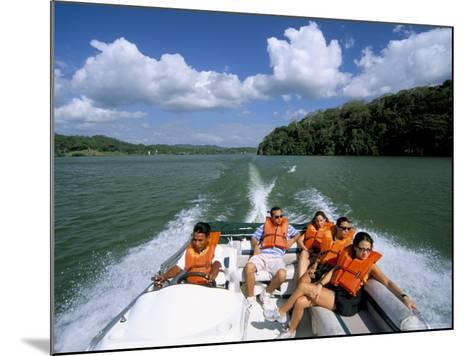 Gatun Lake, Soberania Forest National Park, Panama Canal, Panama, Central America-Sergio Pitamitz-Mounted Photographic Print