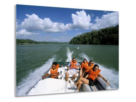 Gatun Lake, Soberania Forest National Park, Panama Canal, Panama, Central America-Sergio Pitamitz-Metal Print