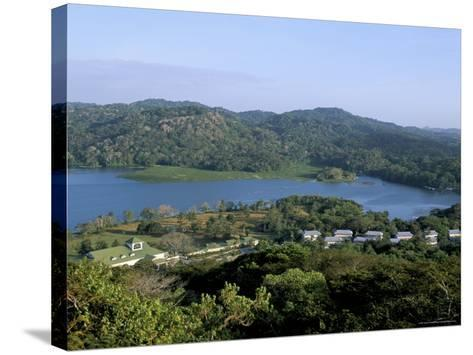 River Chagres and Gamboa Rainforest Resort, Soberania Forest National Park, Panama, Central America-Sergio Pitamitz-Stretched Canvas Print