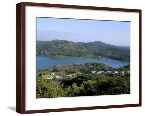 River Chagres and Gamboa Rainforest Resort, Soberania Forest National Park, Panama, Central America-Sergio Pitamitz-Framed Art Print