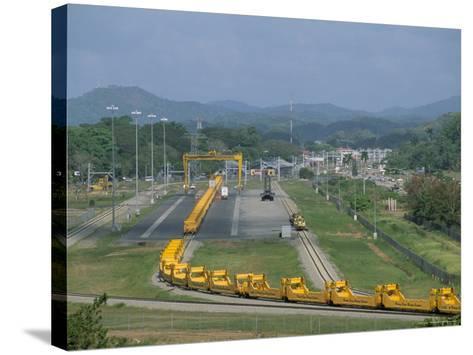 Panama Canal Railway, Balboa, Panama, Central America-Sergio Pitamitz-Stretched Canvas Print