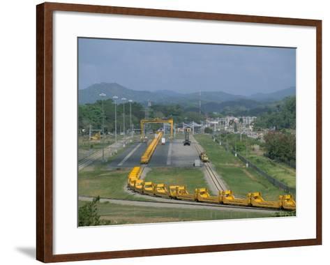 Panama Canal Railway, Balboa, Panama, Central America-Sergio Pitamitz-Framed Art Print