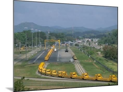 Panama Canal Railway, Balboa, Panama, Central America-Sergio Pitamitz-Mounted Photographic Print