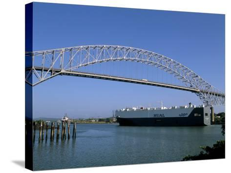 Bridge of the Americas, Panama Canal, Balboa, Panama, Central America-Sergio Pitamitz-Stretched Canvas Print