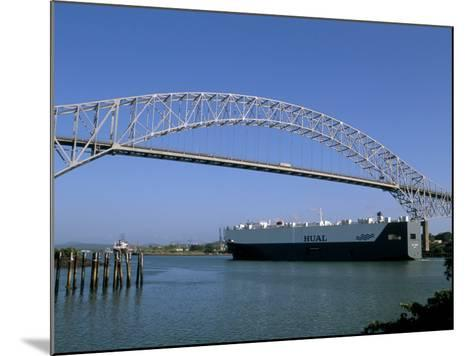 Bridge of the Americas, Panama Canal, Balboa, Panama, Central America-Sergio Pitamitz-Mounted Photographic Print