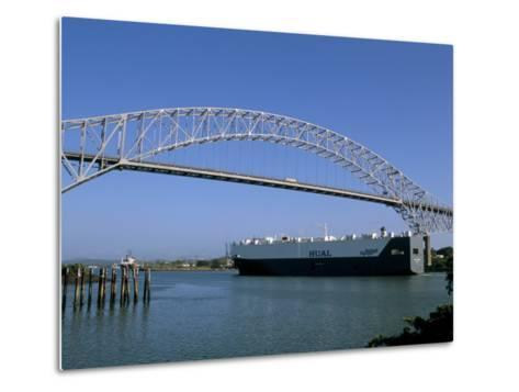 Bridge of the Americas, Panama Canal, Balboa, Panama, Central America-Sergio Pitamitz-Metal Print