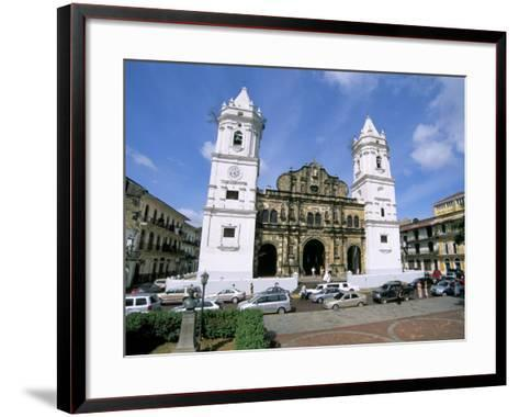 Cathedral in the Old City, San Felipe District, Panama City, Panama, Central America-Sergio Pitamitz-Framed Art Print
