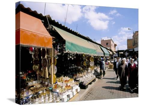 Souk, Marrakech (Marrakesh), Morocco, North Africa, Africa-Sergio Pitamitz-Stretched Canvas Print