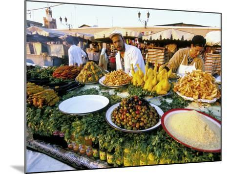 Place Jemaa El Fna, Marrakech (Marrakesh), Morocco, North Africa, Africa-Sergio Pitamitz-Mounted Photographic Print