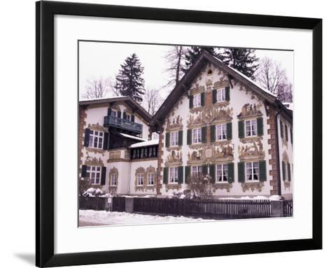 Hansel and Gretel House, Oberammergau, Bavaria, Germany-Sergio Pitamitz-Framed Art Print