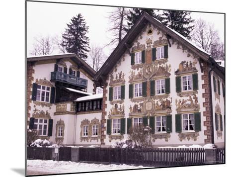 Hansel and Gretel House, Oberammergau, Bavaria, Germany-Sergio Pitamitz-Mounted Photographic Print
