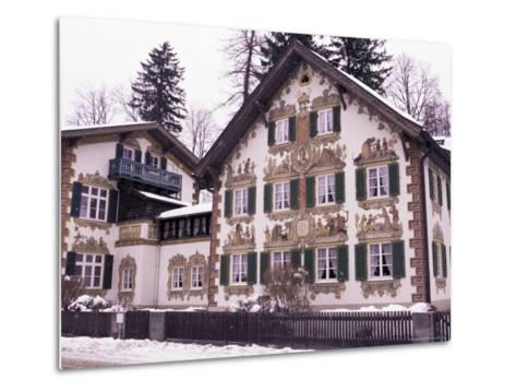 Hansel and Gretel House, Oberammergau, Bavaria, Germany-Sergio Pitamitz-Metal Print