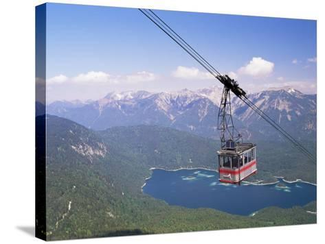 View from Zugspitze, Bavaria, Germany-Sergio Pitamitz-Stretched Canvas Print