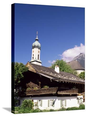 Garmisch-Partenkichen, Bavaria, Germany-Sergio Pitamitz-Stretched Canvas Print