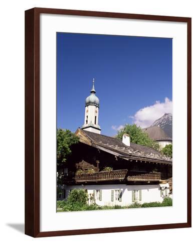 Garmisch-Partenkichen, Bavaria, Germany-Sergio Pitamitz-Framed Art Print
