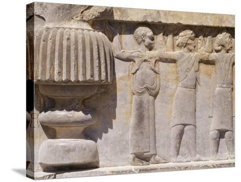 Persepolis, Unesco World Heritage Site, Iran, Middle East-Sergio Pitamitz-Stretched Canvas Print