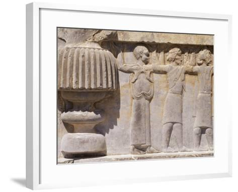 Persepolis, Unesco World Heritage Site, Iran, Middle East-Sergio Pitamitz-Framed Art Print
