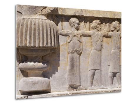 Persepolis, Unesco World Heritage Site, Iran, Middle East-Sergio Pitamitz-Metal Print