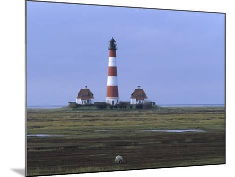 Lighthouse, Westerhever, Schleswig-Holstein, Germany-Thorsten Milse-Mounted Photographic Print