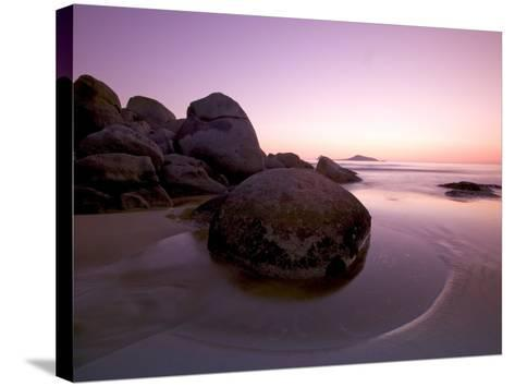 Sunset at Whiskey Beach, Wilson's Promontory, Victoria, Australia-Thorsten Milse-Stretched Canvas Print