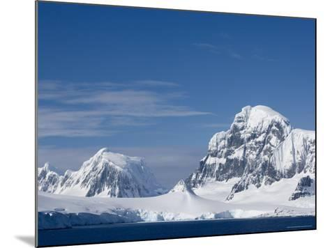 Lemaire Channel, Weddell Sea, Antarctic Peninsula, Antarctica, Polar Regions-Thorsten Milse-Mounted Photographic Print