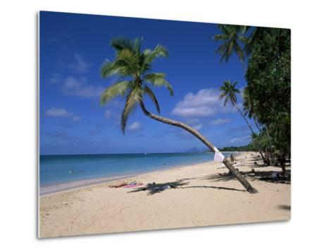 Les Salines Beach, Near Sainte Anne, Martinique, Lesser Antilles-Yadid Levy-Metal Print