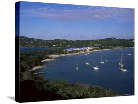 Pigeon Point, Rodney Bay, St. Lucia, Windward Islands, West Indies, Caribbean, Central America-Yadid Levy-Stretched Canvas Print