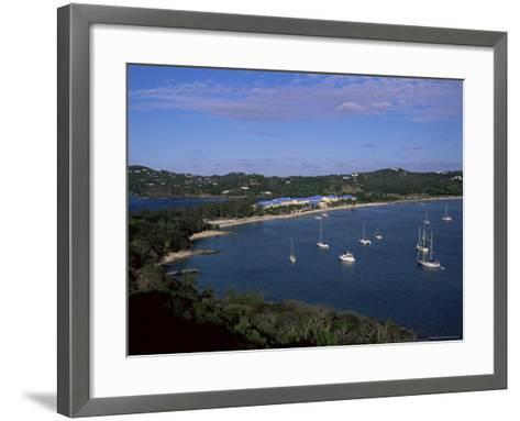 Pigeon Point, Rodney Bay, St. Lucia, Windward Islands, West Indies, Caribbean, Central America-Yadid Levy-Framed Art Print