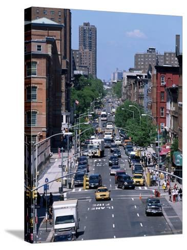 Busy Traffic, Upper East Side, Manhattan, New York, New York State, USA-Yadid Levy-Stretched Canvas Print