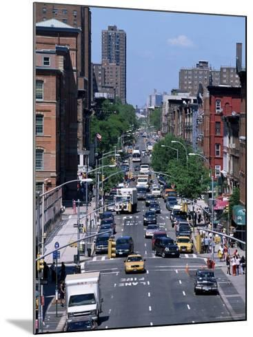 Busy Traffic, Upper East Side, Manhattan, New York, New York State, USA-Yadid Levy-Mounted Photographic Print