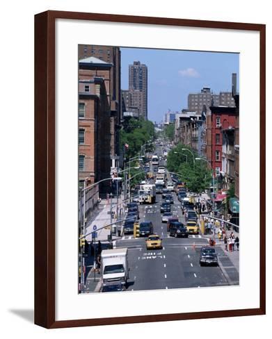 Busy Traffic, Upper East Side, Manhattan, New York, New York State, USA-Yadid Levy-Framed Art Print