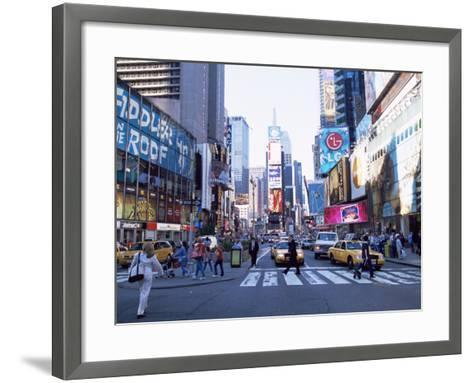 Times Square, New York, New York State, USA-Yadid Levy-Framed Art Print