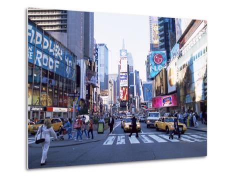 Times Square, New York, New York State, USA-Yadid Levy-Metal Print