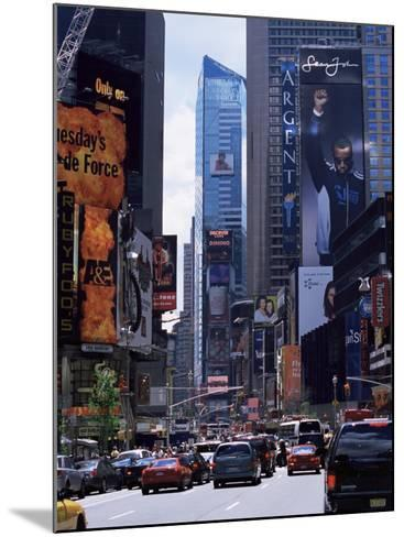 Times Square, New York, New York State, USA-Yadid Levy-Mounted Photographic Print