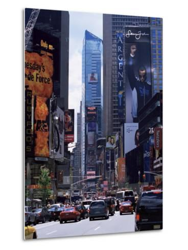 Times Square, New York, New York State, USA-Yadid Levy-Metal Print