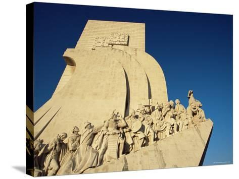 Padrao Dos Descobrimentos (Monument of the Discoveries), Lisbon, Portugal-Yadid Levy-Stretched Canvas Print