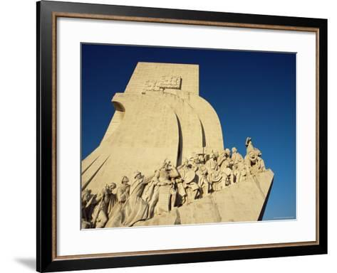 Padrao Dos Descobrimentos (Monument of the Discoveries), Lisbon, Portugal-Yadid Levy-Framed Art Print