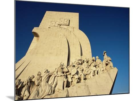 Padrao Dos Descobrimentos (Monument of the Discoveries), Lisbon, Portugal-Yadid Levy-Mounted Photographic Print