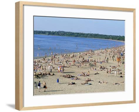 Pirita Beach, Estonia, Baltic States-Yadid Levy-Framed Art Print