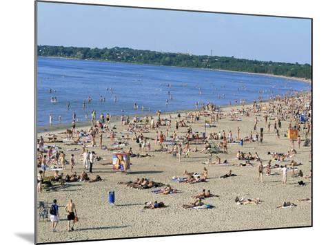 Pirita Beach, Estonia, Baltic States-Yadid Levy-Mounted Photographic Print