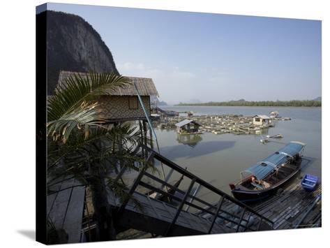 Ko Panyi, Muslim Fishing Village, Phang Nga, Thailand, Southeast Asia-Joern Simensen-Stretched Canvas Print