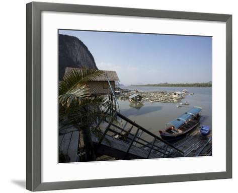 Ko Panyi, Muslim Fishing Village, Phang Nga, Thailand, Southeast Asia-Joern Simensen-Framed Art Print