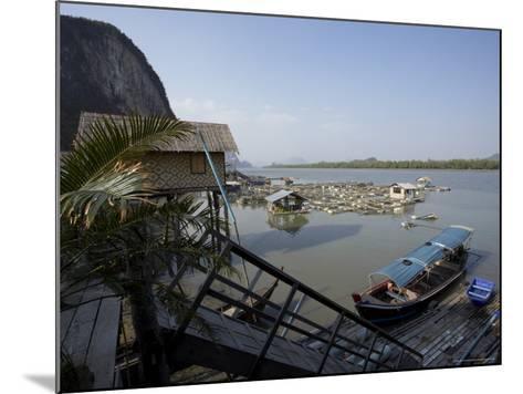 Ko Panyi, Muslim Fishing Village, Phang Nga, Thailand, Southeast Asia-Joern Simensen-Mounted Photographic Print