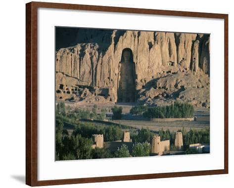 Buddha at Bamiyan, Unesco World Heritage Site, Since Destroyed by the Taliban, Bamiyan, Afghanistan-Christina Gascoigne-Framed Art Print