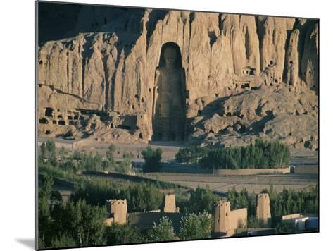 Buddha at Bamiyan, Unesco World Heritage Site, Since Destroyed by the Taliban, Bamiyan, Afghanistan-Christina Gascoigne-Mounted Photographic Print