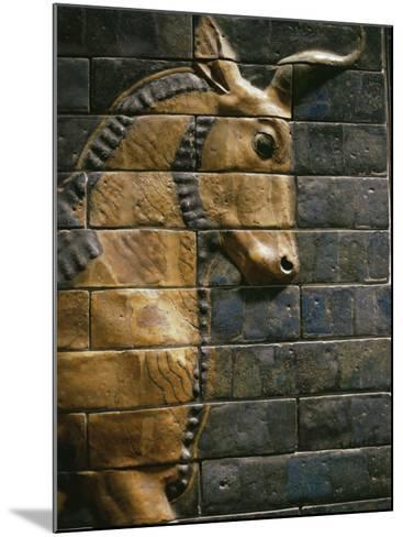 Babylonian Wall Tiles, Babylon, Iraq, Middle East-Christina Gascoigne-Mounted Photographic Print